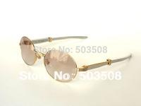 vintage sunglasses 7550178 gold stainless steel arm men sunglasses brands 55-22-140