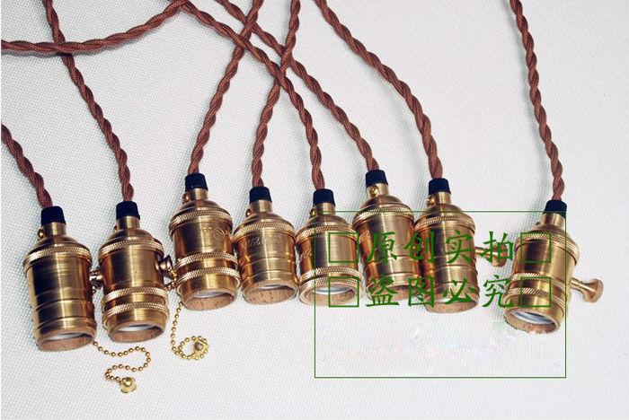 Light Bulb Pendant Light Kit DIY Accessories Fashion Edison Pendant ...