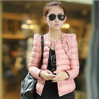 2013 autumn and winter women slim design short wadded jacket cotton-padded jacket female thickening thermal cotton-padded jacket