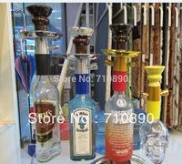 Hooka Sale Shisha Hookah  Pure aluminium Pipe Stem +  Hose +   Bowl Set BOTTLE NOT INCLUDED