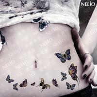 $2 temporary tattoo   china lotsynergy 17 butterfly  waterproof  tattoos stickers body art tattoo sticker