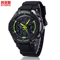 Free shipping Japanese PC double movement waterproof electronic watches sports watch swimming watch 67316
