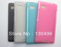 2pcs/lot Soft Case , Silicon case for Lenovo K910 Phone  Free Shipping