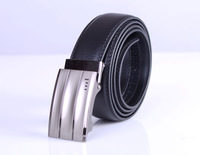Free shipping 1PCS Mens Genuine Leather Automatic Buckle Belt Classic Waistband #24043