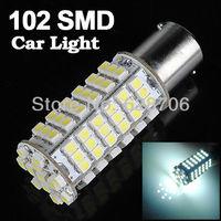 2pcs T20 1156 BA15S 102 SMD LED Car Turn Tail Stop Rear Brake Light Lamp Bulb 12V