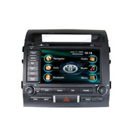 Toyota Land Cruiser 2 din auto radio dvd gps navigation car accessories
