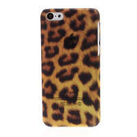 Luxury Leopard Print Pattern Hard Phone Case Cover for iPhone 5C Free Shipping