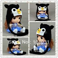 crochet penguin crochet newborn hat baby newborn baby beanie
