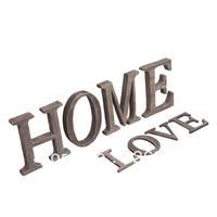 1PCS Zakka vintage retro finishing wool letter home muons decoration props