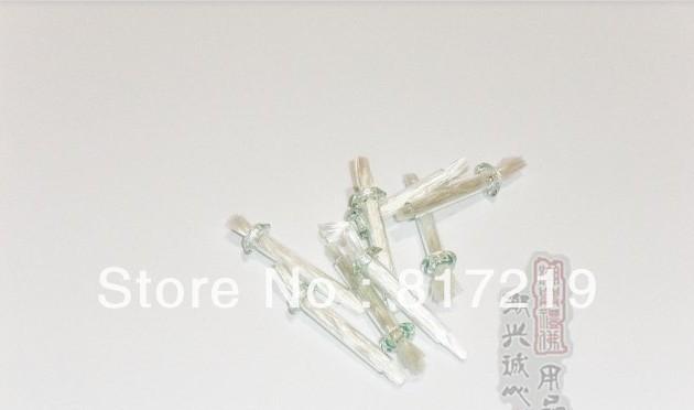 3.7 cm tube en fiber de verre mèche et Insert en verre pour bricolage à l'huile lampes, Rock bougies, Mason Jars effacer verre support pour bouteille d'huile lampes(China (Mainland))
