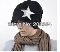 Hot Selling!!!6pcs/lot  Korean hot winter version of the pentagram hat /cap hip-hop cap male couples hat