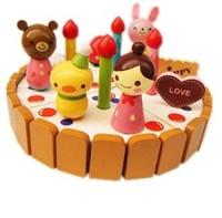 Mother garden cartoon cake assembled animal chocolate cake