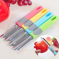 Multi-purpose fruit parer peeler candy color fruit knife fish scales planing