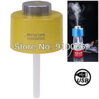 Free shipping New Arrival USB Portable Mini Water Bottle Caps Humidifier Aroma Air Diffuser Mist Maker