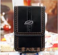 2014 STDupont / Dupont lighter accessories dedicated genuine leather holster sets Lighters
