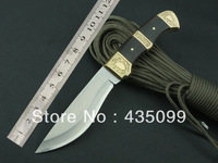 Small Survival Knife Fixed Blade Impatiens Outdoor Hunting Knife Camping With 5Cr13Wov Steel Blade Knife Camping Free Shipping