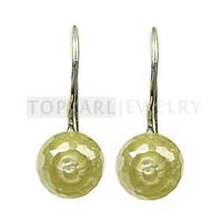 Free shipping!Light Green CZ 925 Sterling Silver Hook Earrings 9SE10