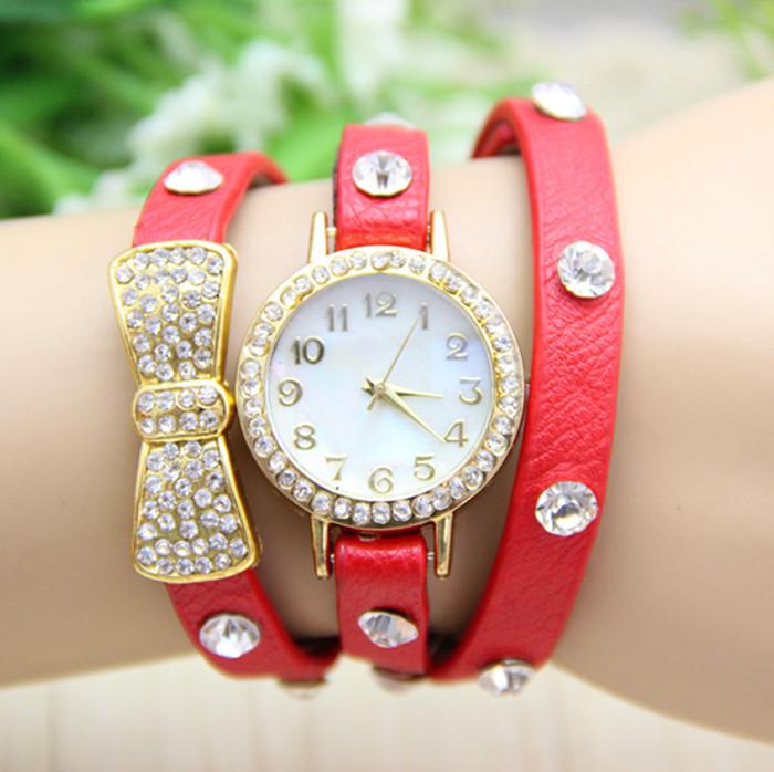 Wholesale-New Arrival 9 colors Vintage Retro Rivet Braided Watch ...