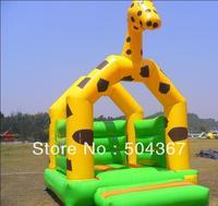 Inflatable bouncer, hot saleing jumper, inflatable castle bouncer, inflatable games, giraffe inflatable