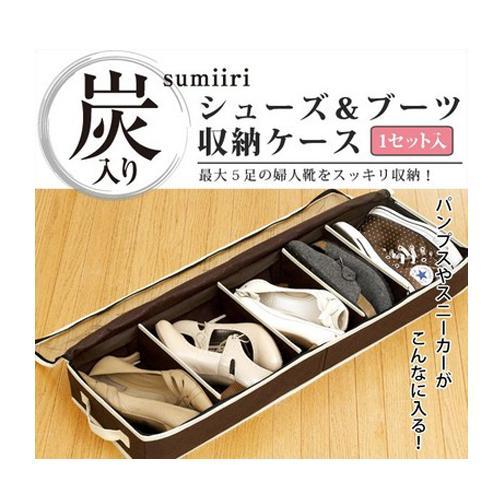 Transparent hard pannelled adjustable storage shoe box bamboo windows 5 bed boots box(China (Mainland))