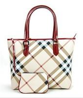 Fashion women handbags classic large check plaid bags female luxury work bag women's messenger bag