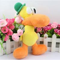 Free Shipping 1pc 25cm/10inch plush gift Pocoyo Pato Soft Plush Toy Doll