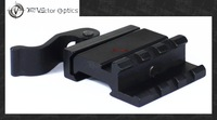 Vector Optics 45 Degree QD Picatinny Rail Offset Angle Mount 20mm Base for Red Dot Sights , Lasers , Flashlights