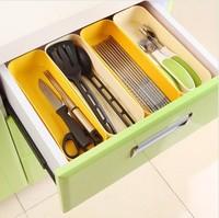 New Arrival Wholesale 20pcs/lot Rilakkuma Drawer Storage Box for Sundries Organizer Tableware  Collection Box 260*75*40mm