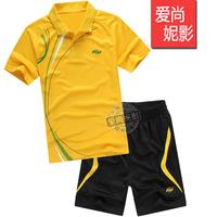 new Badminton Men lovers set tennis ball female badminton shorts quick dry breathable