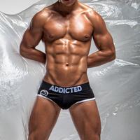 5pcs Mens Underwear Briefs for Man Men's Brief Sexy cotton shorts wonderjock Brand ADD brad wholesale free shipping penis lot