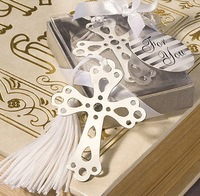 30pcs/lot Free Shipping The Cross Promotion Antique Silver Fashion Bookmarks Wholesale