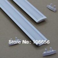 free shipping 1 meter long led strip aluminium profile led