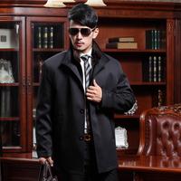 Male mink liner nick coat outerwear mink hair male 2013 men's clothing fur nick coat