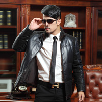 2013 genuine leather down clothing male genuine leather clothing genuine leather down coat leather clothing