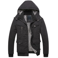 2013 plus velvet thickening male jacket outerwear trend men's clothing casual plus cotton outerwear