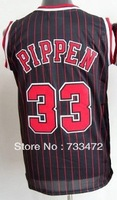 Free Shipping,#33 Pippen Basketball Jersey,Top quality Sports Jersey,Embroidery logos,Size 44-56,Factory Directly Supply