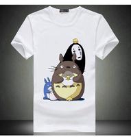 Free Shipping Bird Billd Luo Xiao Hei Print T Shirt Tops For Men & Women Bird Billd Short Shirt Japan Cartoon Luoxiaohei Shirt