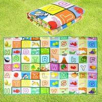 Free shipping Sleeping pad Game Picnic Mat Children's educational baby crawling mat green aluminum moisture 120*180CM