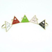 J128 2011 triangle fashion vintage finger ring accessories