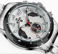 2014 EYKI new brand dress mechanical watch, tourbillon Casual watches,men fashion sports full steel watch