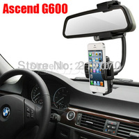 New 360 Degrees Rotation Car Rearview Mirror Holder GPS Mount Stand For Huawei Ascend G600,G500,G330