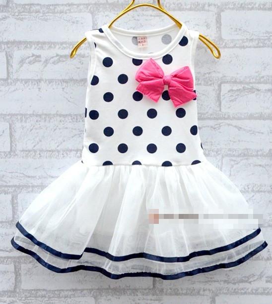 baby kleider für mädchen säugling baumwolle kleidung ärmellos tutu ...