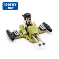 Child puzzle assembling toys fighter podrace golems belt