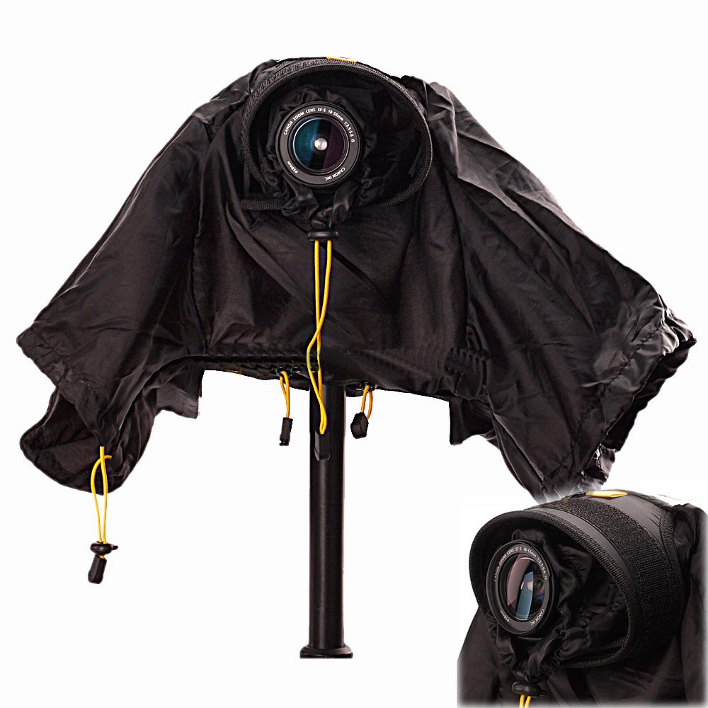 Top Quality Professional DSLR Camera Waterproof Cover Raincoat Rainwear For CANON NIKON SONY #F503379(China (Mainland))