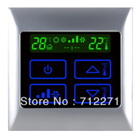 air condition thermostat Three grades fan speed intelligent controlled