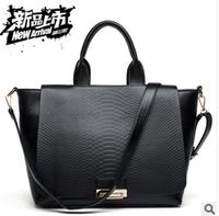 Fashion normic women's serpentine pattern handbag 2013 women's handbag trend bags fashion map shoulder bag