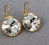 Dyrberg kern fashion accessories noble sparkling gem earrings earring gold stud earrings, fashion stud earrings, free shipping