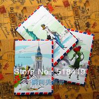 2014 Beautiful scenery  passport cover passport holder ticket folder