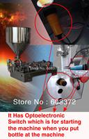 optoelectronic switch,air pump,self-priming pump,horizontal type 1L capacity double heads pneumatic liquid paste filling machine
