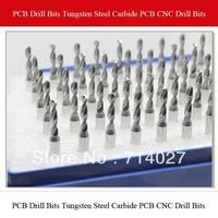 Top Quality PCB Drill Bits Tungsten Steel Carbide PCB CNC Drill Bits Milling Machine 3.175*1.6mm 10pcs/lot